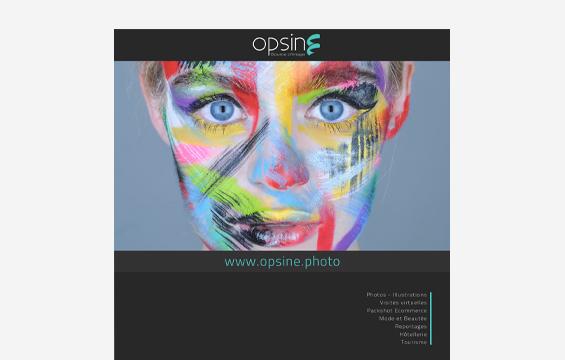 Brochure photographe