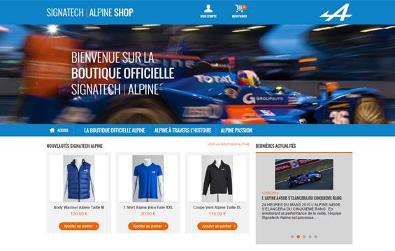 Signatech Alpine Shop