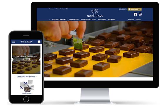 Noel Jovy chocolaterie