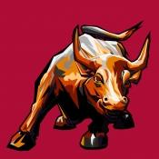 Bull portrait by ELFELIPE